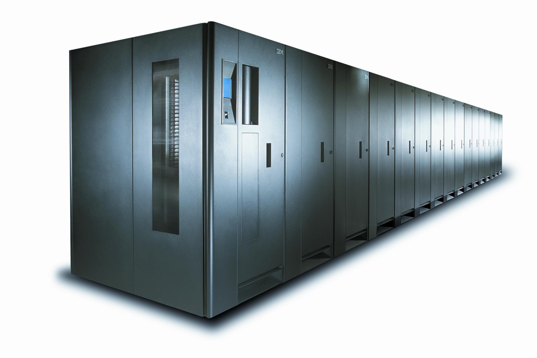 IBM TS3500 テープライブラリー