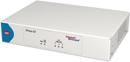 IPmux-24 T1/E1 スードワイヤーゲートウェイ