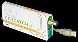 DiviCatch RF-S/S2(衛星信号解析装置)