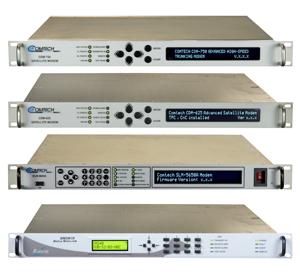 衛星モデム/周波数コンバータ/パワーアンプ/TCPアクセラレータ等衛星通信関連機器