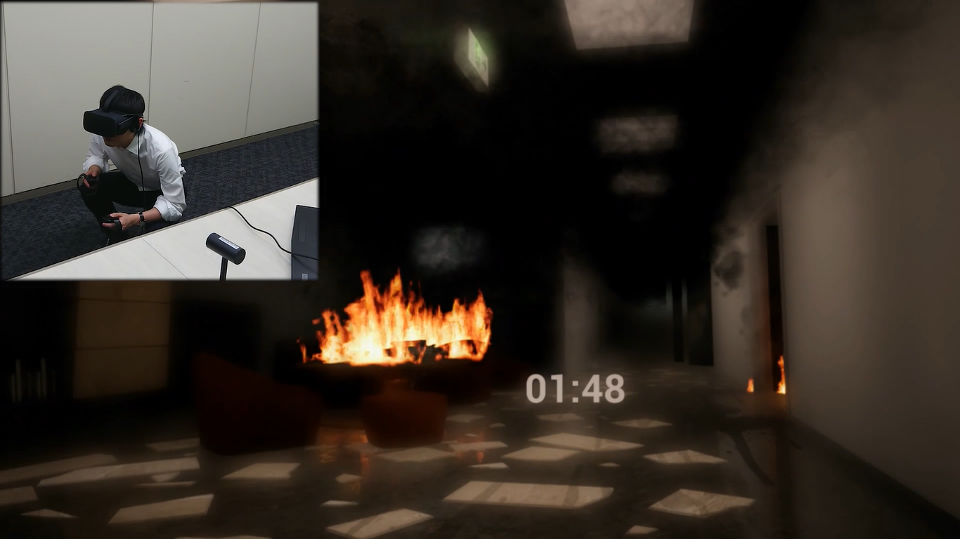 "Rikei provides Osaka Municipal Fire Department with ""Evacuation Experience VR"" -- Using VR to educate about disaster firefighting --"
