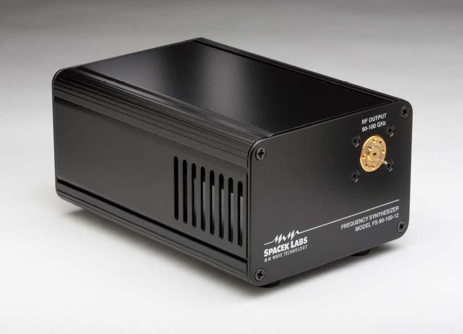 90~100GHz 周波数シンセサイザ FS-90-100-12
