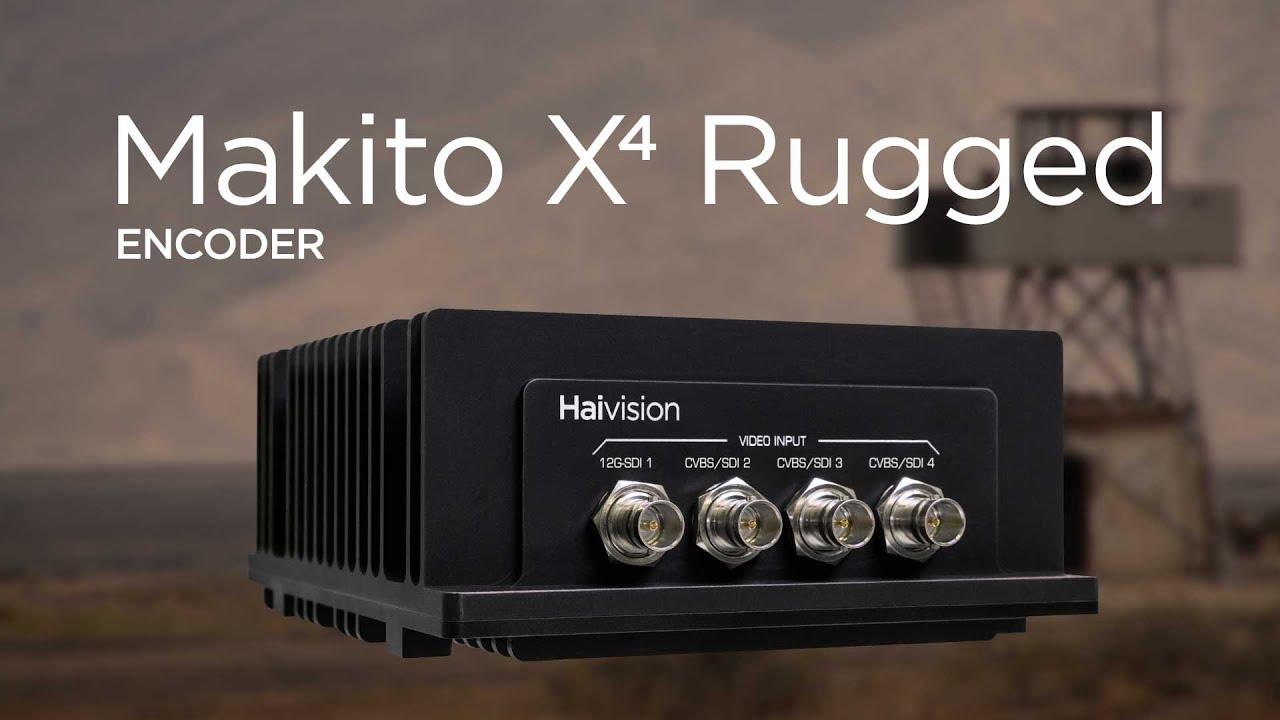 Makito X4 Video Encoder