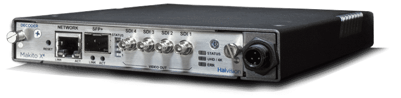 Makito X4 Video Decoder