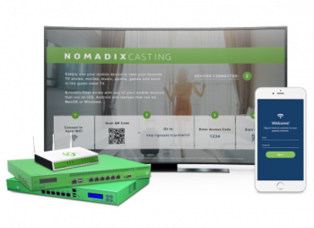 Rikei to Begin Selling Nomadix Casting from Nomadix Inc.  Secure, Easy Streaming onto Hotel TV